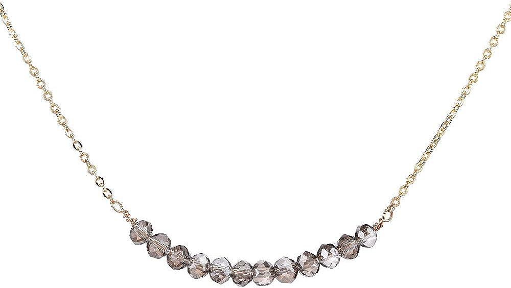Choker Necklace Gold...