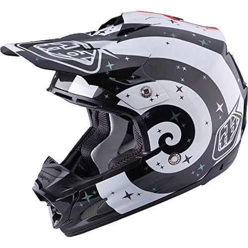 Troy Lee Designs Phantom Adult SE3 Motocross Motorcycle Helmet - White / Medium