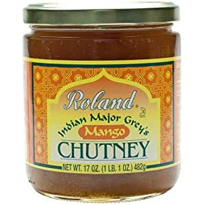 Indian Major Grey's Mango Chutney: 1 Jar, 1LB 2 oz