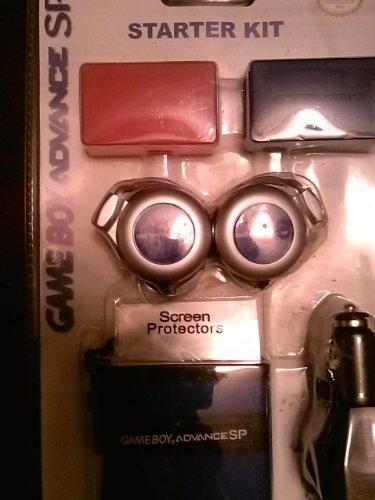 - Gameboy Advance Sp Starter Kit - Blue by Nintendo