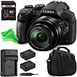 Panasonic LUMIX DMC-FZ300K ALL YOU NEED Digital Camera BUNDLE - Panasonic LUMIX DMC-FZ300K Digital Camera + 32GB SD + Replacement Battery + Replacement Charger + Camera Case + DigitalAndMore Cloth