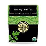 Organic Parsley Leaf Tea - Kosher, Caffeine Free, GMO-Free - 18 Bleach Free Tea Bags