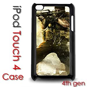 IPod Touch 4 4th gen Touch Plastic Case - Call of Duty Modern Warfare by lolosakes