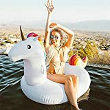 Unicorn Floatie Pool High Quality PVC Material with Fast Inflatable Valve Suitable for Adult and Children
