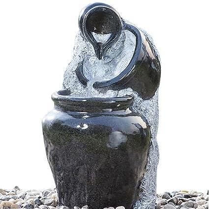 Superieur Cascade Outdoor Water Fountain 3 Tier Glazed Pots Decorative Fibeglass Garden  Water Fountain