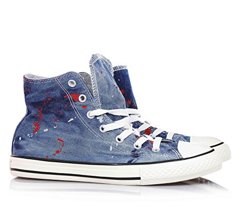 Converse All Taylor Niños Denim Star Unisex Zapatillas Chuck qqvnExp58