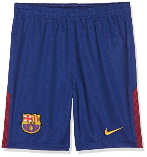 NIKE Youth Breathe FC Barcelona Stadium Short [DEEP Royal Blue] (M)