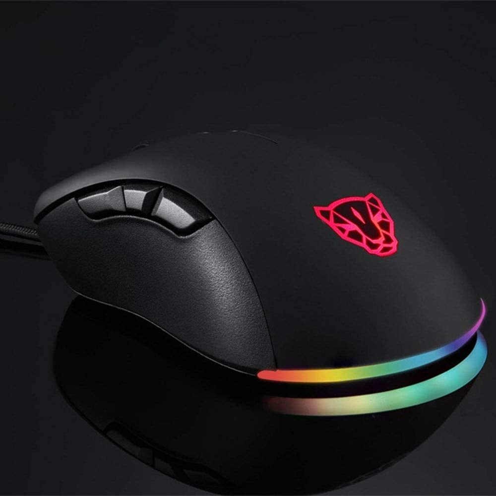 DP-iot HOT-Motospeed V100 Paw3327 Led 6200Dpi Professional for Switch RGB Esport Game Mouse Professional Pro Mouse Gamer Computer Mic