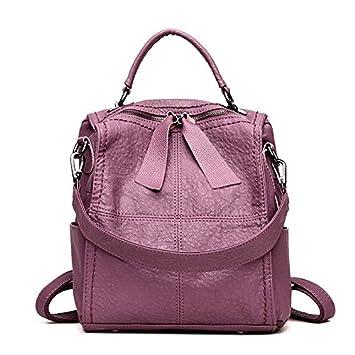 TSLX nueva bolsa Mochila Fashion,violeta