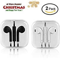 In Ear Headphones,Wired Earbuds Stereo Earphones Sport...