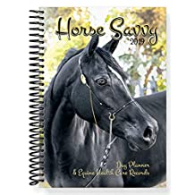 2019 Horse Savvy ~ 53 Week Day Planner ~ Plus 76 pages of Equine Health Care Records ~ All Breed Horse Calendar ~ Horse Quotes