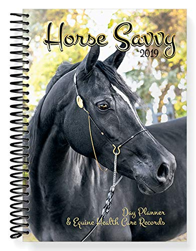 Horse Savvy ~ 2019 Day Planner ~ Horse Health Care Records ~ 91 Horse Stickers (Horses Calendar 2019)