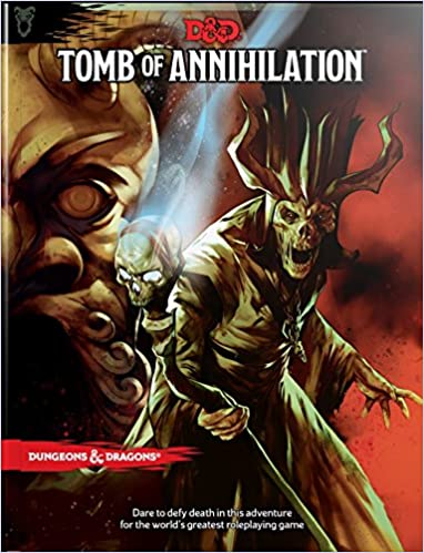 Written by Wizards RPG Team: Tomb of Annihilation (Dungeons ...