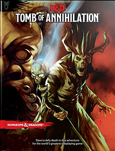 Book cover from Tomb of Annihilation (Dungeons & Dragons) by Wizards RPG Team