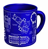Architecture Coffee Mug - Architectural Drawings of Famous Buildings - From Classic to Classical - Comes in a Fun Gift Box