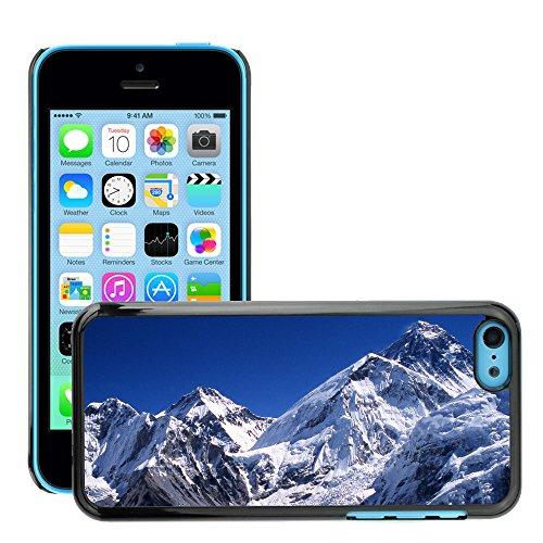 Premio Sottile Slim Cassa Custodia Case Cover Shell // V00002828 Everest pic // Apple iPhone 5C
