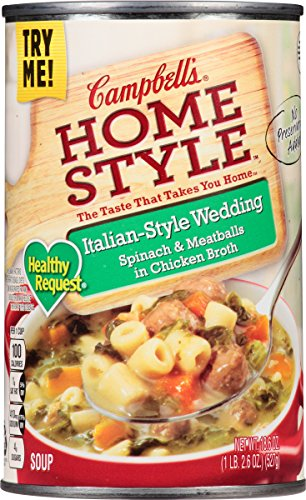 Campbell's Homestyle Healthy Request Italian-Style Wedding Soup, 18.6 ()