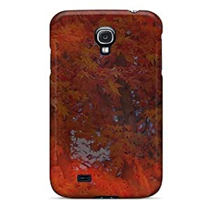 LJF phone case Awesome STFnHrH745FUyUd Mialisabblake Defender Tpu Hard Case Cover For Galaxy S4- Sunlight Through Autumn Trees