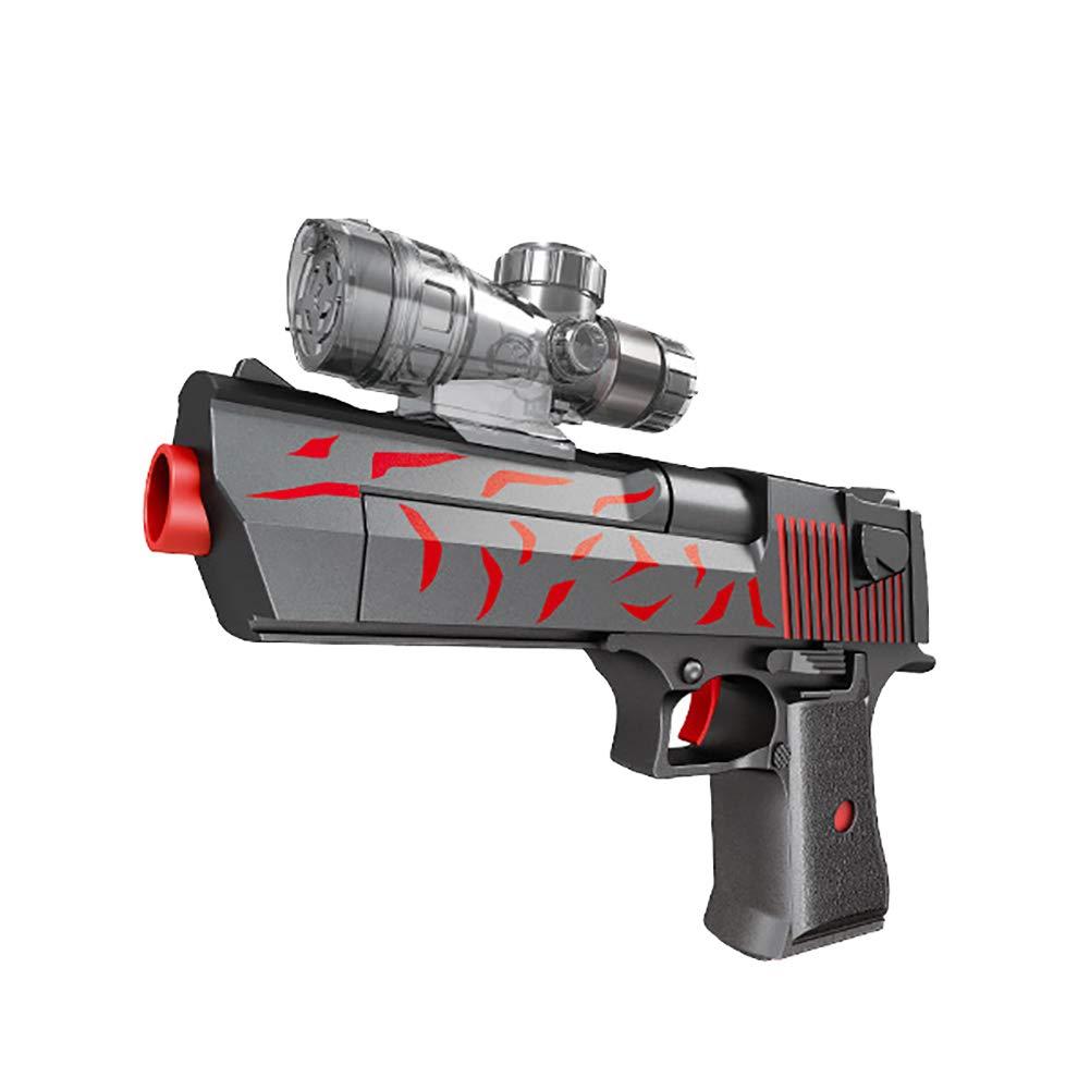AngryMan Simulación Manual de plástico Reality Battle Pistola de Agua de Juguete con Gel de Tiro de 11-13 mm Balas de Cristal de Agua Suave: Amazon.es: ...
