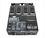 CHAUVET DJ DMX-4 LED Lighting Dimmer/Relay Pack | Lighting Accessories