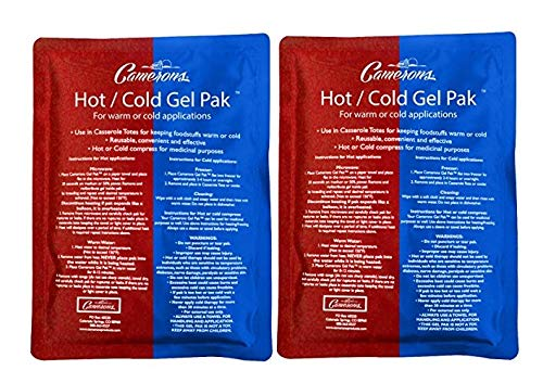 (Hot or Cold Gel Pack Set of 2- XL Size (8 x 11
