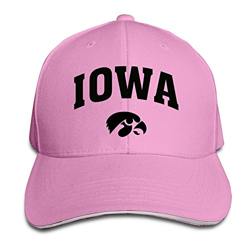 sunny-fish6hh-unisex-adjustable-iowa-hawkeyes-baseball-caps-hat-one-size-pink
