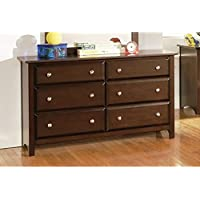 Coaster Home Furnishings Transitional Dresser, Cappuccino