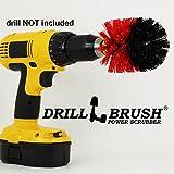 Original Drillbrush Power Scrubber Heavy Duty Stiff Bristle Nylon Scrub Brush