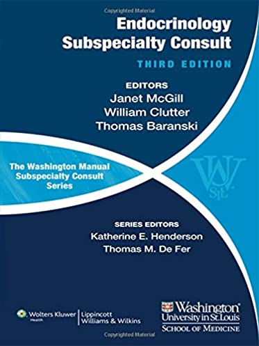 the washington manual of endocrinology subspecialty consult rh amazon com iPhone Manual Washington Washington Manual of Medical Therapeutics