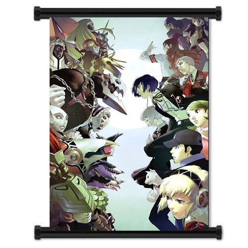 1 X Shin Megami Tensei Persona 3 Game Fabric Wall Scroll Poster (16x23) Inches by DIY - Artwork Persona 3
