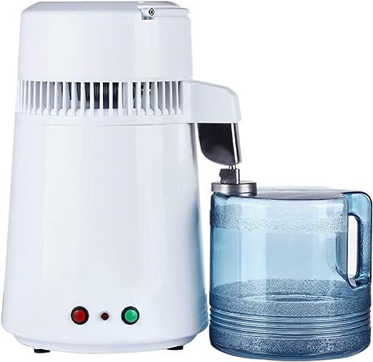 YLOVOW Máquina destiladora de Agua de mostrador de destilador ...