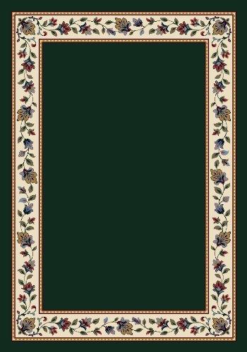 4 Emerald Area Rug - Milliken Signature Collection Symphony Rectangle Area Rug, 3'10