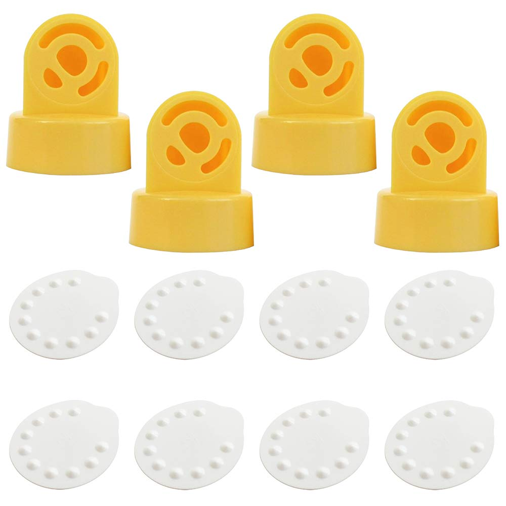 Nenesupply Membranes and Valves Compatible with Medela Breastpumps. Compatible with Medela Valves Work with Medela Pump in Style Swing Symphony Harmony Replace Medela Pump Parts Medela Membrane