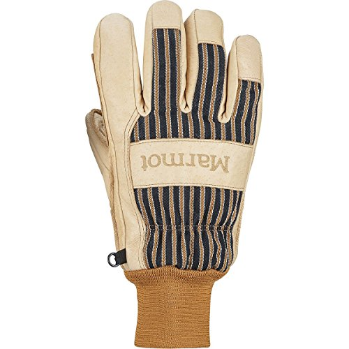 Marmot Lifty Glove - Men's Tan/Brown, - Marmot Gloves Work Mens