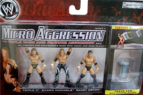 wwe jakks micro aggression - 4