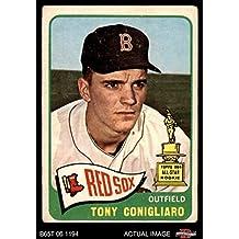 1965 Topps # 55 Tony Conigliaro Boston Red Sox (Baseball Card) Dean's Cards 2 - GOOD Red Sox