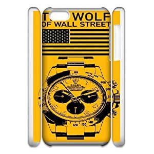 iphone5c 3D Cell Phone Case White The Wolf of Wall Street Hhgog Protective Csaes Cover