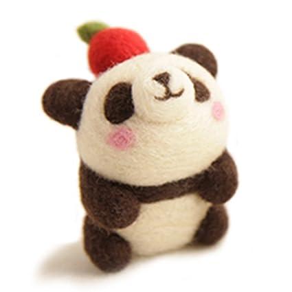Amazon chicvita diy needle felting kitsapple panda arts chicvita diy needle felting kitsapple panda solutioingenieria Image collections