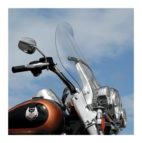 Klock Werks Kw05-01-0217 Clear Billboard Flare Windshield For Harley-Davidson Road King Models With H Bracket (2310-0342) (Werks Flare Klock Windshield)