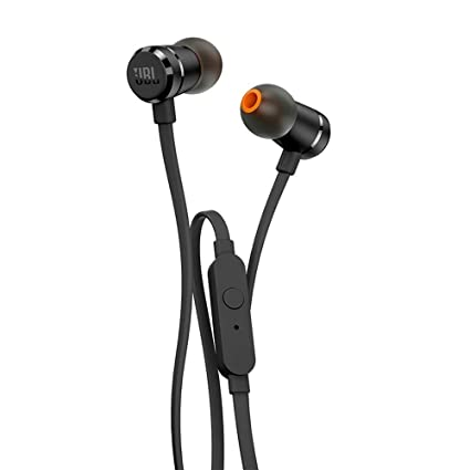 96e3bfe5d65 JBL T290 Pure Bass All Metal in-Ear Headphones with Mic (Black): Buy JBL  T290 Pure Bass All Metal in-Ear Headphones with Mic (Black) Online at Low  Price in ...