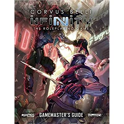 Modiphius Infinity: Gamemasters Guide (Infinity RPG Supp., Full Color): Toys & Games