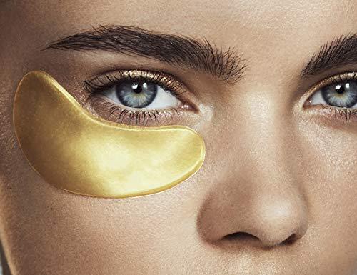 HYDRA-BRIGHT Golden Eye Treatment Mask - 5 masks by MZ SKIN BY MARYAM ZAMANI MD (Image #3)