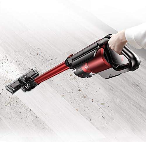LQPOUXCQ aspirateur balai Léger Aspirateur Sans Fil 2 En 1 Aspirateur Portable Sans Fil LED Avec Tenture 16000Pa