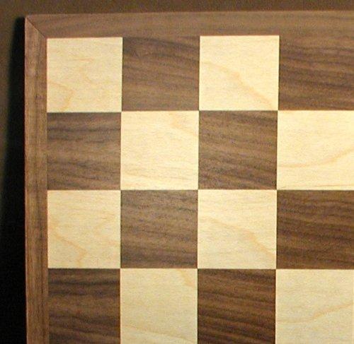 Maple Wood Veneer Chess Board (17
