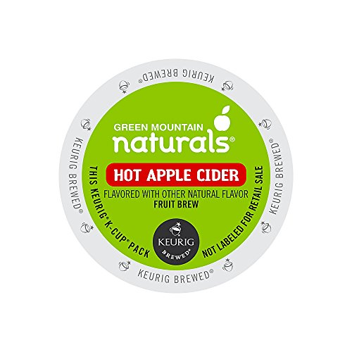 Mountain Apple (Green Mountain Naturals Hot Apple Cider K-Cups , Box Of 16)