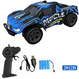 Vanvler RC Toys, High Speed RC Racing Car 4WD Remote Control Truck Off-Road Buggy Toys New (E)