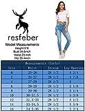 Resfeber Women's Ripped Boyfriend Jeans Cute