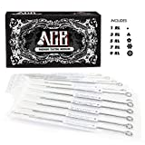 ACE Needles 50 Mixed Assorted Tattoo Needles 6 Sizes - Round Liner 1 3 5 7 9 11 RL