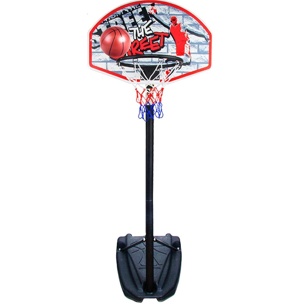 Aidriney Toy Toys - Sports Park Indoor and Outdoor Basketball Stand Boy Toy Large Children's Basketball Stand - Liftable Metal Basketball Stand - 2.3 M