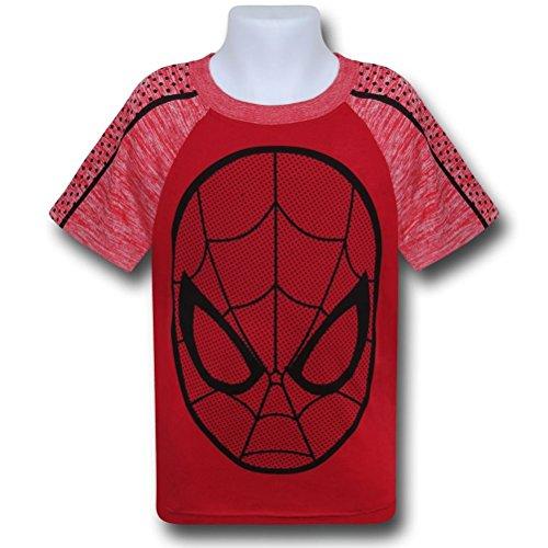Spiderman Web Head Space Dye T-Shirt- Juvy 10/12